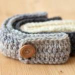 Girls Crochet Headband - F..