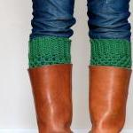 Crochet Boot Cuffs - you pi..