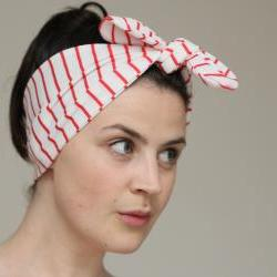 Knot Tie Jersey Turban Headband - Jersey Headscarf